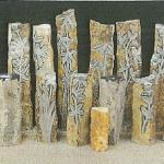 Etched Columns