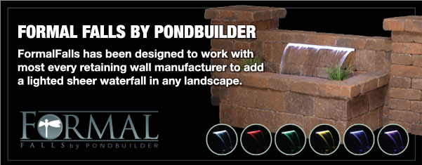 SNYDER HARDSCAPE PRODUCTS NOW CARRIES FORMAL FALLS BY PONDBUILDER