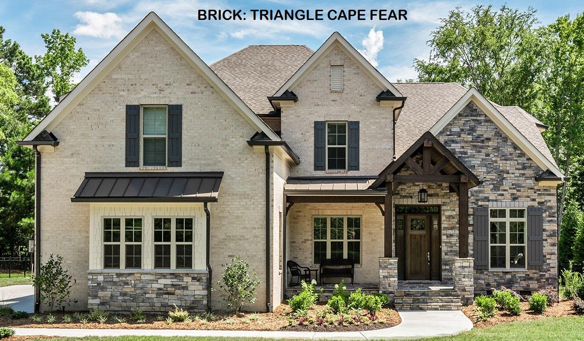 Triangle Cape Fear w/ White Mortar